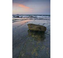 Point Cartwright sunset. Sunshine Coast. Photographic Print
