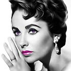 Elizabeth Taylor - Beautiful - Pop Art by wcsmack