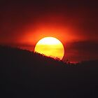 Smokey Sunset by cathywillett