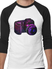 Camera I Men's Baseball ¾ T-Shirt