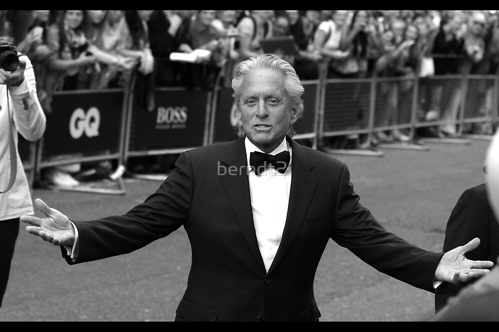 Michael Douglas by berndt2