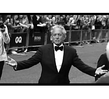 Michael Douglas Photographic Print