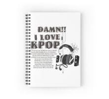 i love kpop Spiral Notebook
