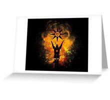 Praise the Sun Art Greeting Card