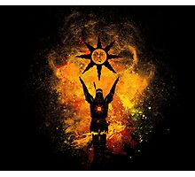 Praise the Sun Art Photographic Print