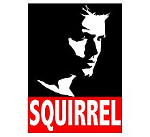 "Dean ""SQUIRREL"" Supernatural Photographic Print"