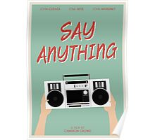 Say Anything film poster Poster