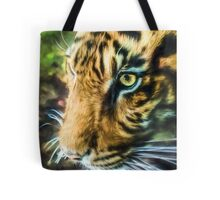 Eye Of The Tiger (GO2) Tote Bag