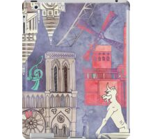 Paris in Violet iPad Case/Skin