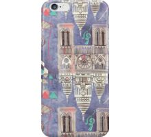 Paris in Violet iPhone Case/Skin