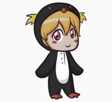 Nagisa Penguin Kigurumi (Iwatobi Swim Club) by alienaviary