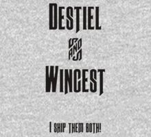Wincest & Destiel by Kendall Shaffer