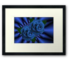 இڿڰۣ-ڰۣ—BLUE ROSESஇڿڰۣ-ڰۣ—PICTURE/ CARDஇڿڰۣ-ڰۣ— Framed Print
