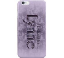 LYNNE iPhone Case/Skin