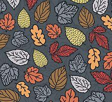 autumn pattern by BoYusya