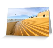 The steps Greeting Card