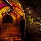 Trajectum Lumen Project. Ganzenmarkt Tunnel. Netherlands by JennyRainbow