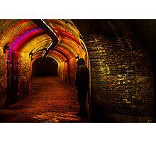 Trajectum Lumen Project. Ganzenmarkt Tunnel. Netherlands Photographic Print