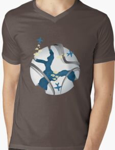 Travel over the world Mens V-Neck T-Shirt