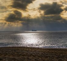 Loe bar beach by Matthew Trist