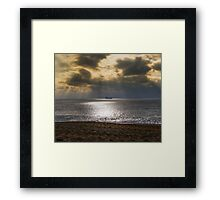 Loe bar beach Framed Print