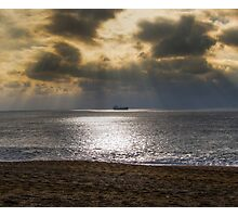 Loe bar beach Photographic Print