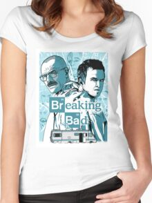 The Breaking Bad Duo Women's Fitted Scoop T-Shirt