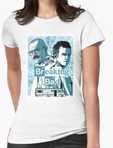 The Breaking Bad Duo Womens Fitted T-Shirt