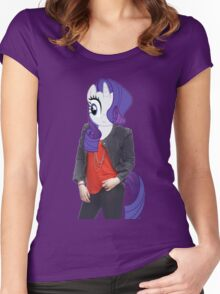 Rarity Woman Women's Fitted Scoop T-Shirt