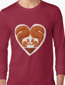 Squirrel Lovers Long Sleeve T-Shirt