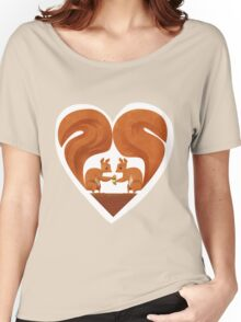 Squirrel Lovers Women's Relaxed Fit T-Shirt