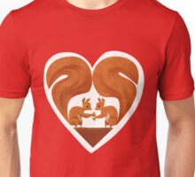Squirrel Lovers Unisex T-Shirt