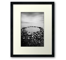 The Rock Pool Framed Print