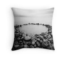 The Rock Pool Throw Pillow
