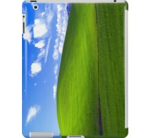 Classic Windows XP background iPad Case/Skin