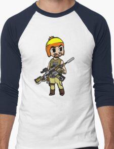 The Legend of Vera (The Hero of Canton) Men's Baseball ¾ T-Shirt