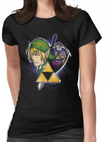The Hero of Hyrule Womens Fitted T-Shirt