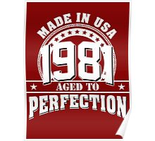 1981 aged to perfection Poster