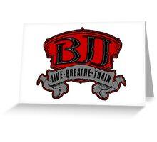Live, Breathe, Train Greeting Card