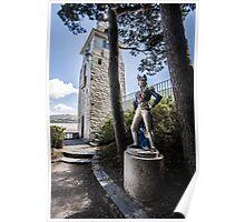 Portmeirion, Nelson Statue Poster