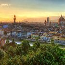 Florence Sunset by Robyn Carter