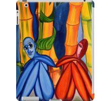Anger Couple iPad Case/Skin