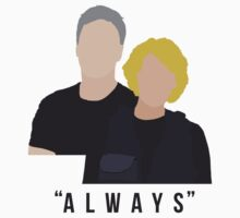 "Stargate - Sam & Jack ""Always"" T-Shirt by Fandom  Accessories"