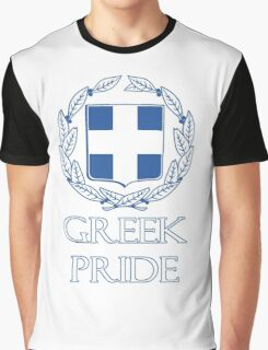 Greek Pride Graphic T-Shirt