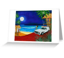 Surf Shack Greeting Card