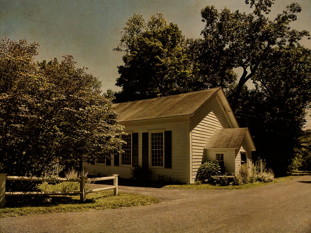 Plutarch Methodist Church by PineSinger