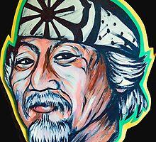 Mr. Miyagi  by portraitsonthep