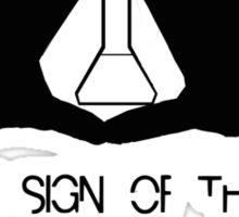 the sign of three  Sticker
