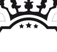King Logo Sticker