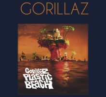 Gorillaz Plastic Beach by Bila